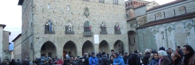 Beppe Grillo w Pistoi