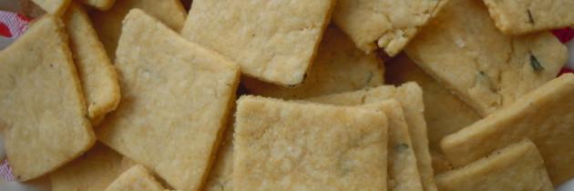 Slone ciastka z rozmarynem