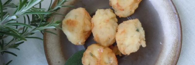 Frittelle z ziolami