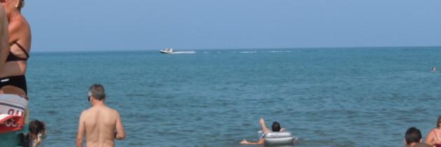 Gorąco, a na plaży jeszcze goręcej