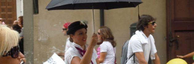 Włoskie przesądy z parasolem