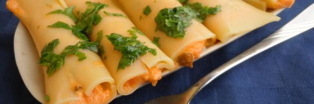 Viva la pasta cz.15, Cannelloni z dynia i mascarpone