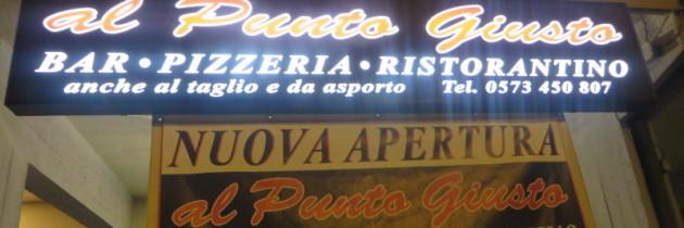 Pizzeria Al punto giusto w Pistoi