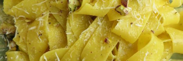Viva la pasta! cz.23, Pappardelle ai pistacchi