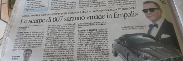 Buty Jamesa Bonda z Toskanii