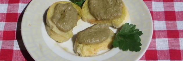 Crostini toskańskie – wersja wegańska