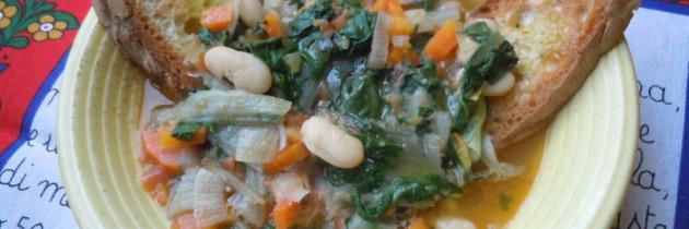 Zupa fasolowa z bietolą