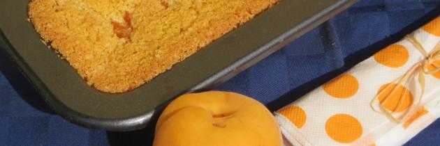 Ciasto kukurydziane z morelami – wersja oryginalna
