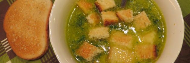 Zupa kurkowa w Toskanii