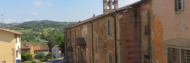 Monterchi i Madonna del Parto