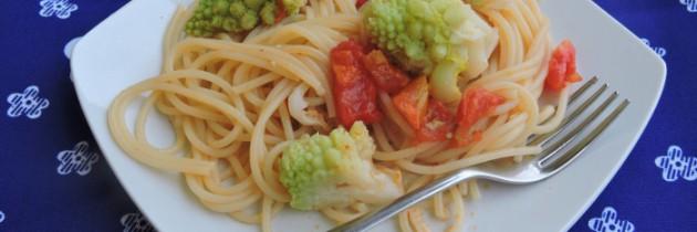 Przepisy na dyktafon, cz.2 Spaghetti z rzymskim kalafiorem