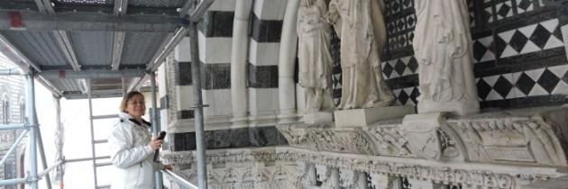 Sztuka z bliska – na rusztowaniach Baptysterium w Pistoi