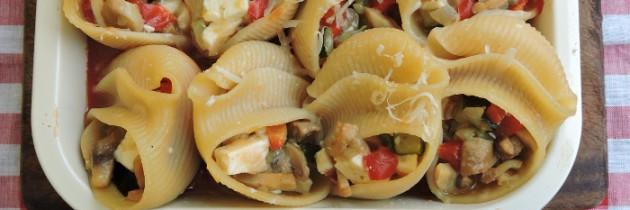 Viva la pasta! cz.64, Faszerowane muszle
