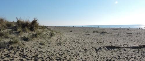 Na plaży w listopadzie