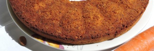 Ciasto marchewkowo-migdałowe