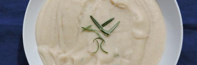 Zupa z mąki ciecierzycy