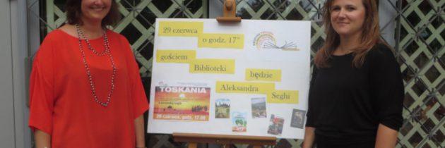 Relacja ze spotkania na stronie biblioteki na ul. Majdańskiej