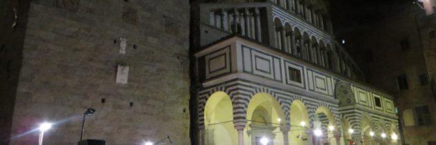 Letni koncert wieczorową porą w Pistoi