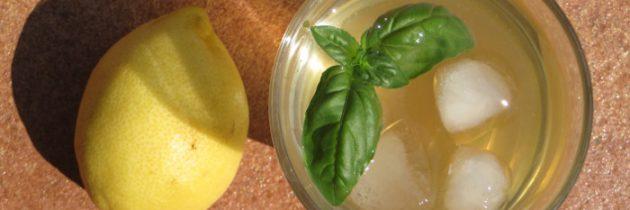 Lemoniada bazyliowa – przepis nr. 1