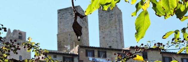 Jesienne San Gimignano