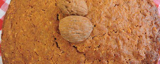 Ciasto marchewkowo orzechowe z przyprawami