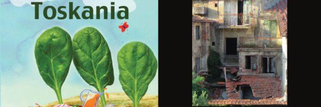 Toskania, wiosennie i promocje książek Aleksandry Seghi