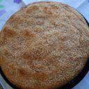 Ciasto kokosowo – bananowe z mąką kukurydzianą