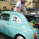 Lody z Fiata 500