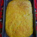 Schiacciata z kurkumą i ziarnami słonecznika