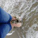 Dzień na plaży w Viareggio