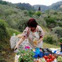 Ekipa filmowa i toskańskie gotowanie na ekranie
