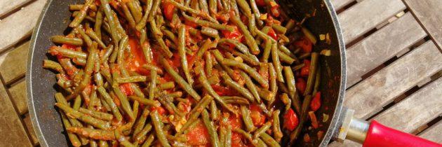Zielona fasolka po toskańsku