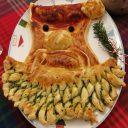 Mikołaj ze szpinakiem i mozzarellą