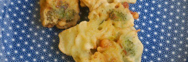 Brokuły smażone w cieście