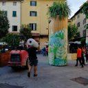 Sobotnie przygotowania do zielonego centrum Pistoi