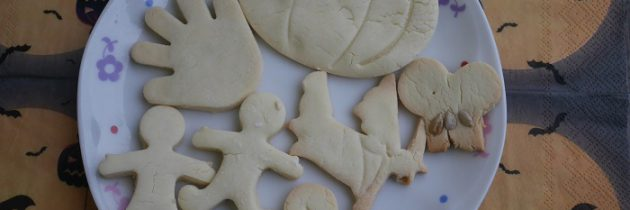 Halloween i kruche ciasteczka bezglutenowe
