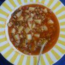 Moja toskańska zupa z soczewicą