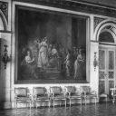 Rekonstrukcja obrazów Marcello Bacciarellego spalonych podczas wojny w Łazienkach Królewskich w Warszawie