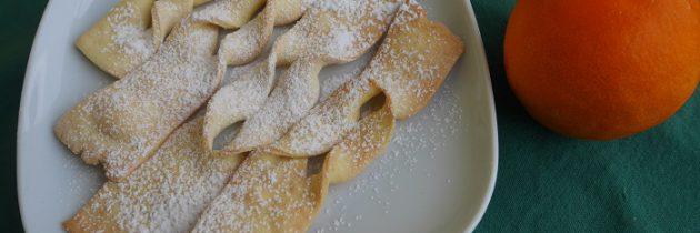 Pieczone toskańskie faworki