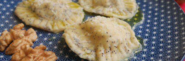 Viva la pasta! cz.83: Słoneczniki z gorgonzolą i orzechami włoskimi