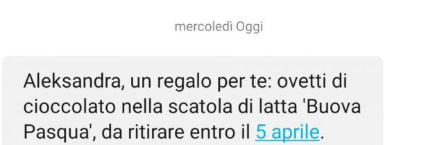 Włoski market: Mamy dla Ciebie paczkę jajek czekoladowych do odebrania