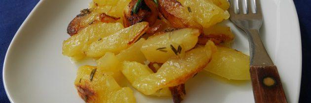 Smażone ziemniaki po toskańsku