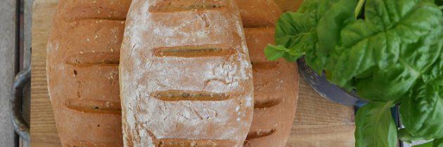 Chleb z mąki z ciecierzycy