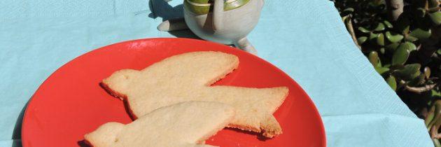 Wielkanoc: kruche ciastka z kokosem
