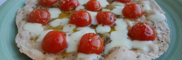 Pizza z mąką z płaskurki