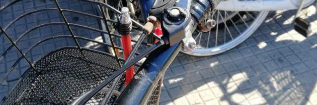 Kolejka do mechanika rowerowego w czasie pandemii