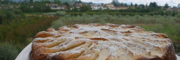Ciasto z ricottą i jabłkami