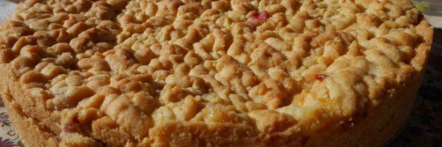 Ciasto malinowe z kremem