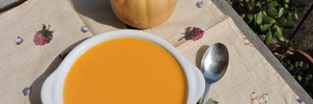 Zupa krem dyniowa z imbirem