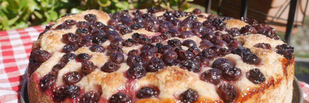 Żytnia schiacciata z winogronami. Toskańska pyszność w letnim sezonie